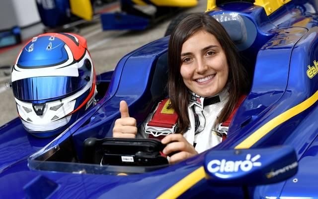 Tatiana Calderon steigt bei Sauber zur Testfahrerin auf