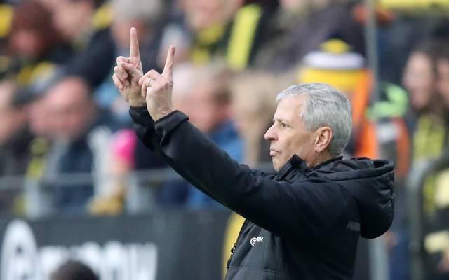 Lucien Favre kassierte in seinen ersten 14 Pflichtspielen mit Borussia Dortmund keine Pleite