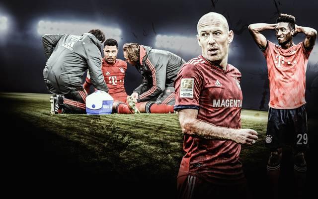 Bayerns Verletztenliste wird lang und länger
