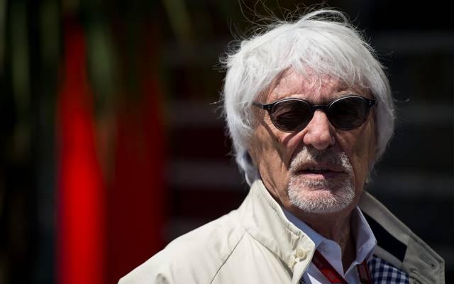 Bernie Ecclestone war bis 2017 Chef der Formel 1