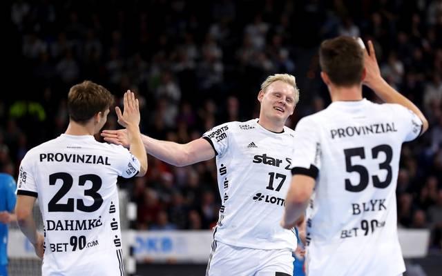 Handball: THW Kiel mit Kantersieg bei Gummersbach - Füchse Berlin patzen