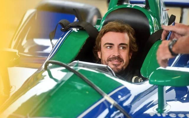 Fernando Alonso bereitet sich auf einen IndyCar-Einstieg 2019 vor