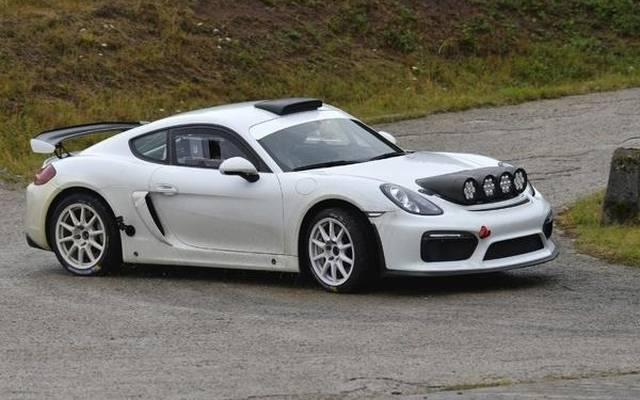 Romain Dumas wird den Cayman GT4 Clubsport in Deutschland fahren