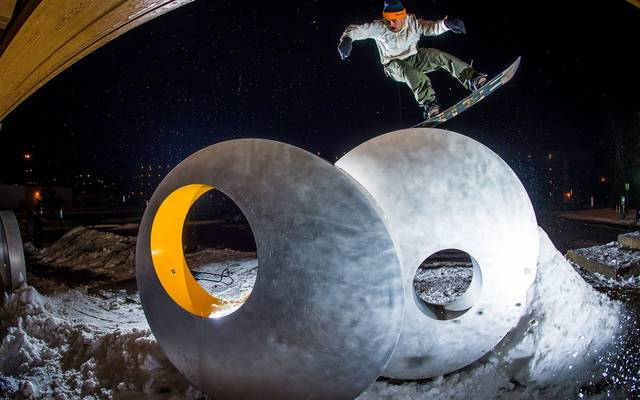 Jed Anderson & Ride Snowboardboards join forces!