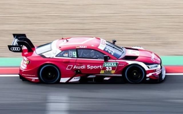 Rene Rast gewinnt das Samstagsrennen am Nürburgring