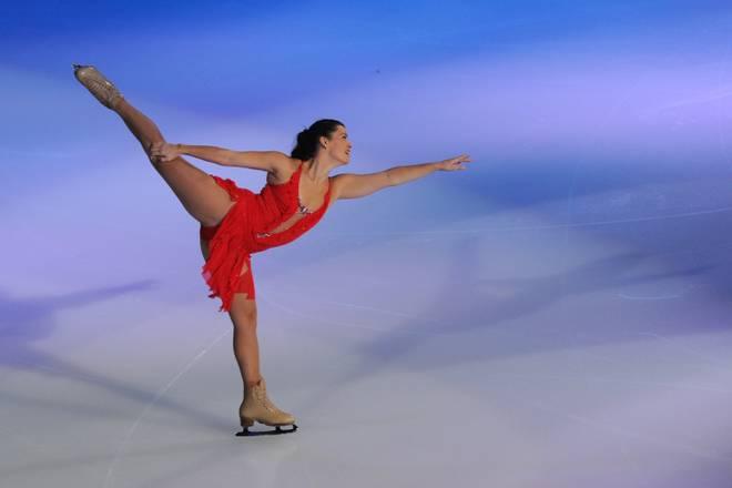 P&G & Wal-Mart 'Tribute to American Legends of the Ice': Nancy Kerrigan bei einem Auftritt im Jahr 2013