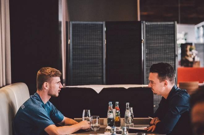SPORT1-Reporter Florian Plettenberg traf Timo Werner zum Interview