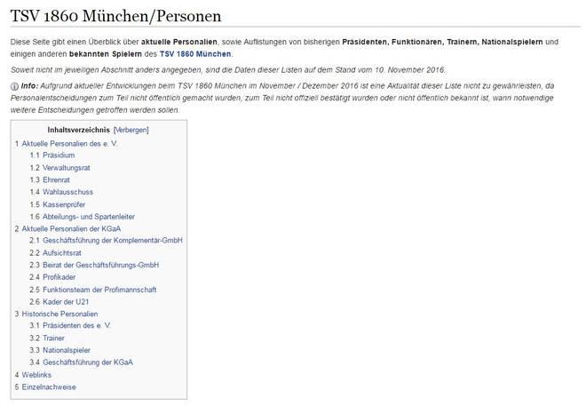 Wikipedia-Seite zu 1860 München/Personen