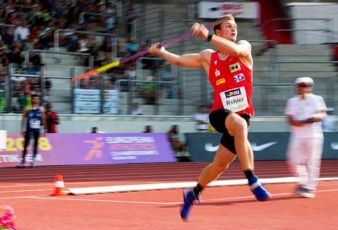 Thomas Röhler tritt bei der Leichtathletik-WM 2017 in London im Speerwurf an
