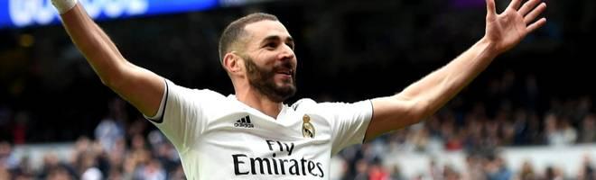 Vereinsrekord für Real Madrid! Karim Benzemas irre Tor-Serie
