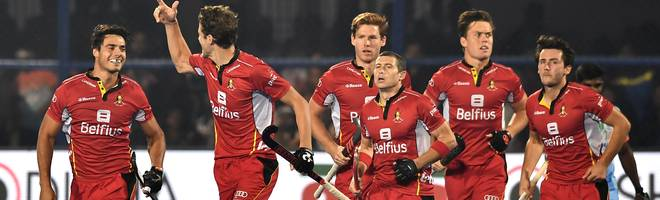 India v Belgium - FIH Men's Hockey World Cup