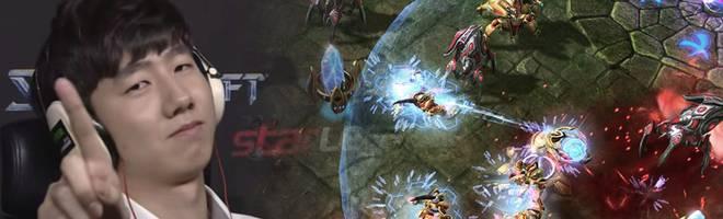 Rogue gewinnt das Intel Extreme Masters StarCraft-II-Finale in Katowice, Polen.