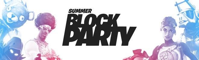 Fortnite: Die Summer Block Party vereint Streamer und Celebrities