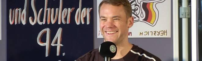 DFB-Team: Manuel Neuer über mögliche Neuzugänge beim FC Bayern
