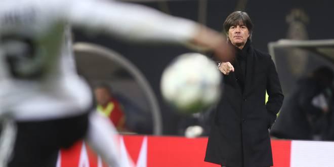 Bundestrainer Joachim Löw richtete nach dem Abstieg den Fokus auf die EM-Quali