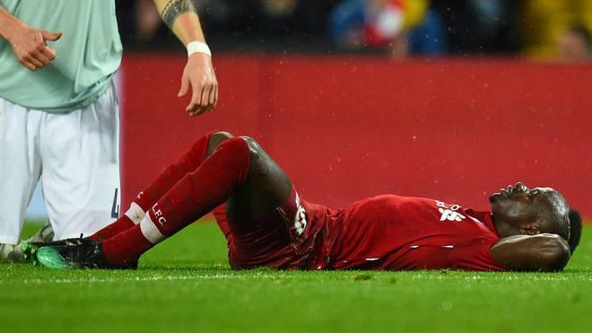 Sadio Mane vom FC Liverpool erwarteten nach der Partie gegen Bayern schlechte Nachrichten