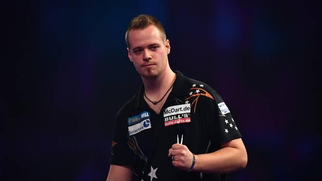 Max Hopp ist der erste Deutsche, der sich für das World Matchplay qualifizieren konnte