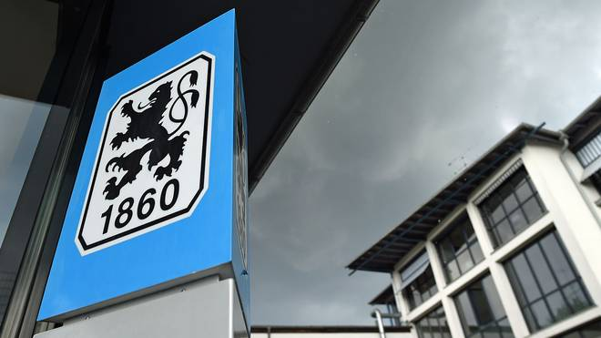 Gewitterwolken ziehen über der Geschäftsstelle des TSV 1860 München auf