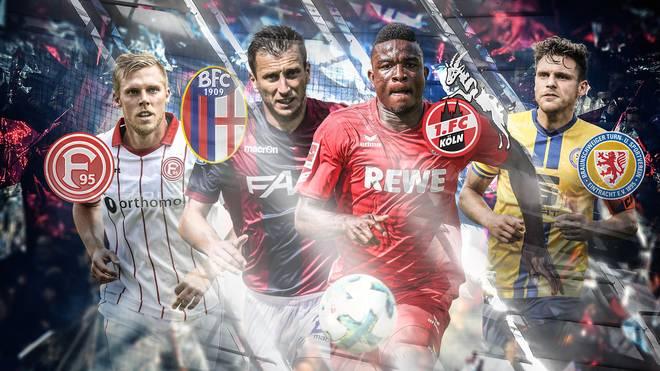 2 Bundesliga Fortuna Düsseldorf Eintracht Braunschweig Im