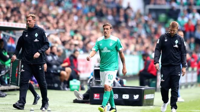 Max Kruse musste gegen Hannover 96 angeschlagen raus