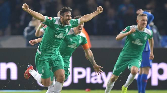 Claudio Pizarro würde am liebsten auch gegen die Bayern so jubeln