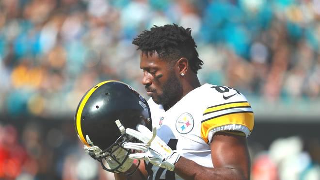 Antonio Brown spielt seit 2010 für die Pittsburgh Steelers