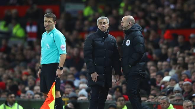 Jose Mourinho gegen West Ham United
