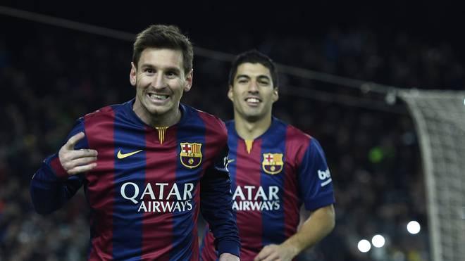 Lionel Messi (l.) hat seit 1. Januar schon 20 Tore geschossen