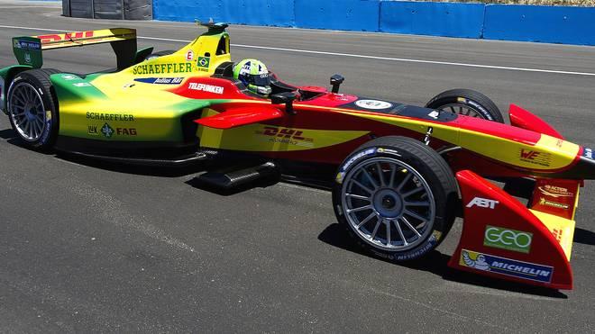 Audi ist im Formel-Sport bei der Formel E aktiv - hier mit Lucas Di Grassi