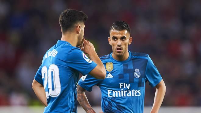 Dani Ceballos ist seit 2017 bei Real Madrid