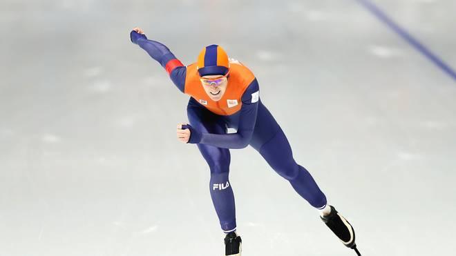 Ireen Wüst gewann bereits ihre fünfte Goldmedaille bei Olympischen Spielen