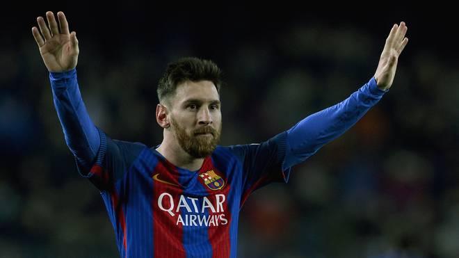 Lionel Messi spielt beim FC Barcelona seit er 13 Jahre alt war