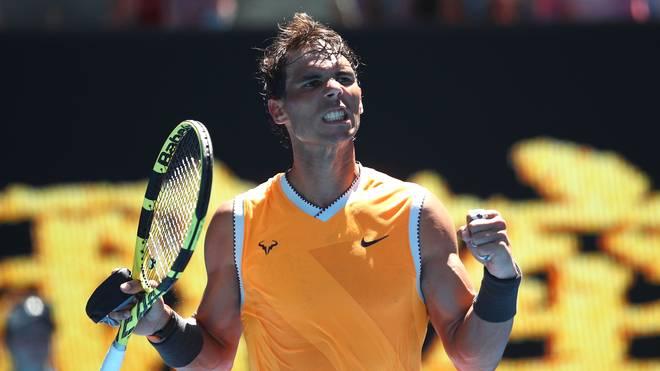Rafael Nadal gewinnt sein Erstrundenmatch bei den Australian Open gegen James Duckworth