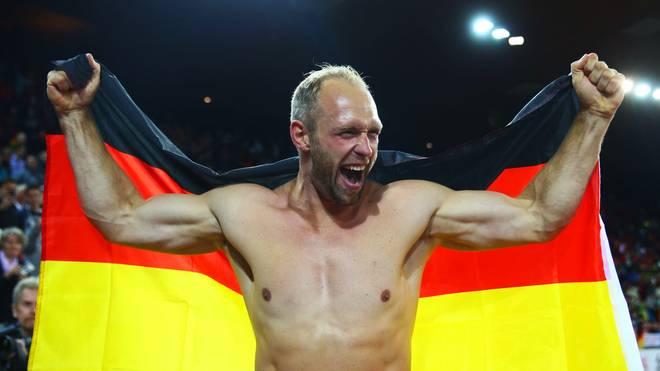 Robert Harting hat den Startschuss für die Deutsche Sportlotterie gegeben