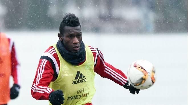Bakery Jatta trainiert beim Hamburger SV