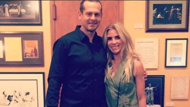 Aaron Boone ist mit Ex-Playmate Laura Cover verheiratet