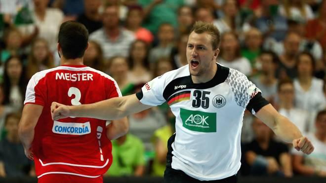 Handball Deutsche Nationalmannschaft Besiegt Schweiz In Em Quali