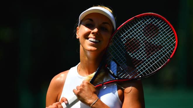 Sabine Lisicki steht in der zweiten Runde der Wimbledon-Qualifikation