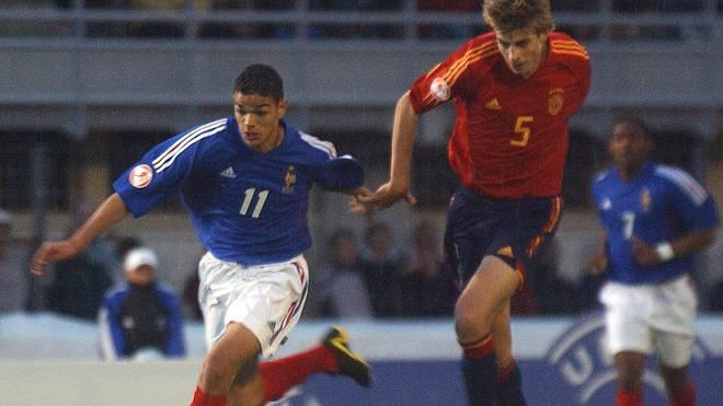 Bei der U17-EM 2004 ließ Hatem Ben Arfa mit Frankreich unter anderem Gerard Piques Spanier hinter sich