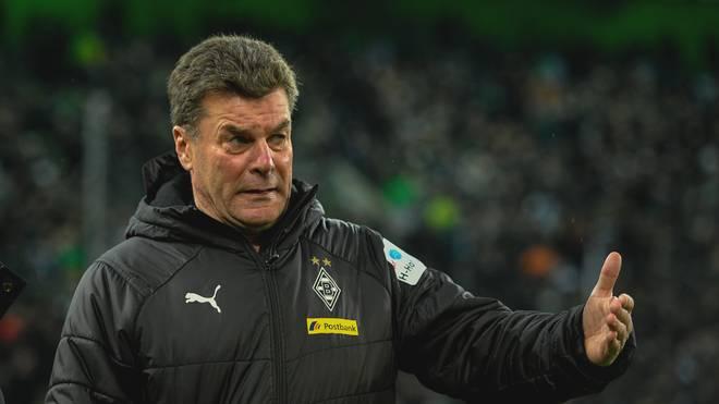 Trainer Dieter Hecking appellierte nach dem Remis gegen Freiburg an die Fans