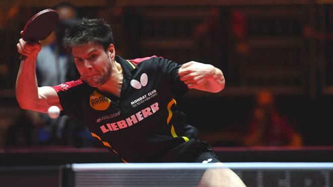 Dimitrij Ovtcharov wurde 2012 Dritter bei Olympia