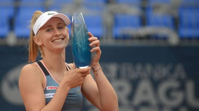 Jil Teichmann feierte in Prag ihren ersten Titel auf der WTA-Tour