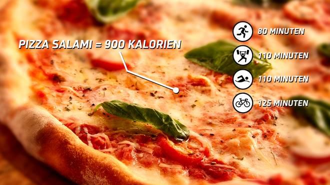 So trainiert man eine Pizza ab