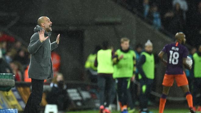 Pep Guardiola steht mit Manchester City im Halbfinale des FA Cups
