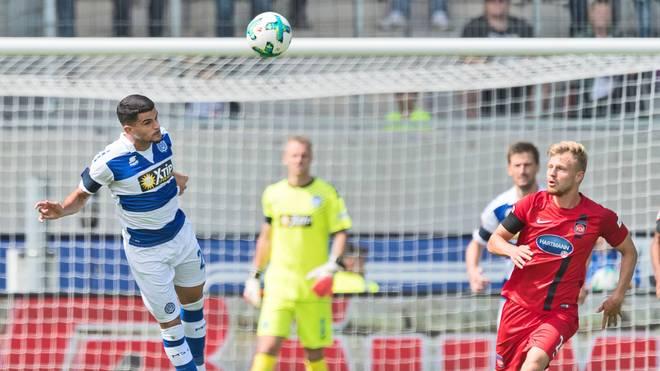 Der MSV Duisburg gewinnt in Heidenheim mit 2:1