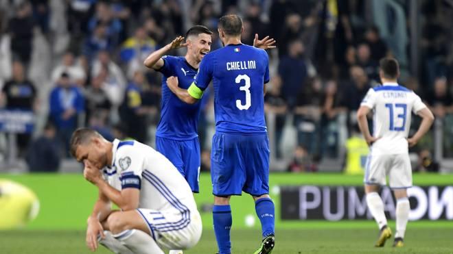 Italy v Bosnia and Herzegovina - UEFA Euro 2020 Qualifier