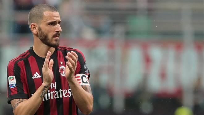 Transfernews: Leonardo Bonucci könnte seine Zelte beim AC Milan schon wieder abbrechen
