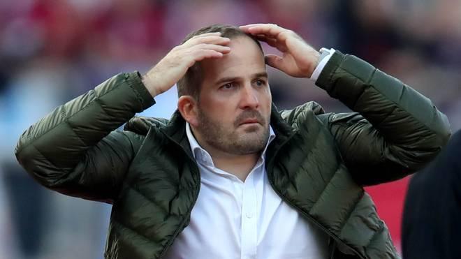 Manuel Baum wurde am 9. April als Trainer des FC Augsburg entlassen