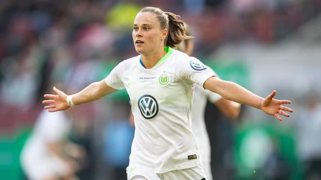 Ewa Pajor ist mit 23 Saisontoren aktuell Wolfsburgs Toptorjägerin