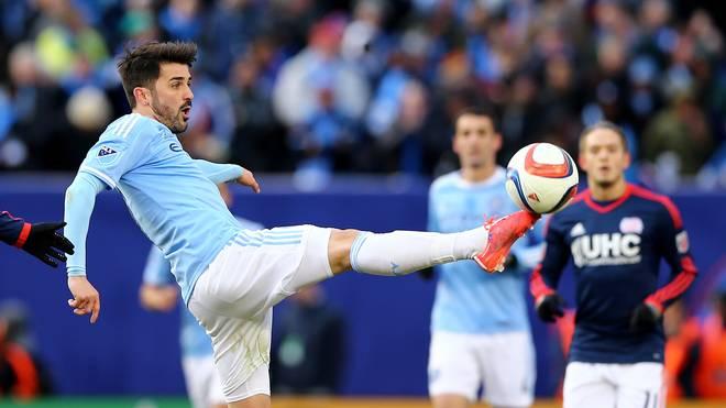 David Villa erzielte sein 400. Tor